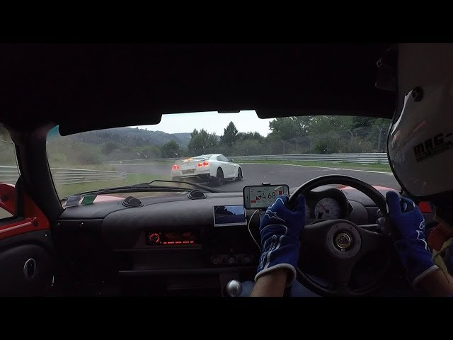 A fast lap of the Ring with my Exige totally ruined by a dumb Nissan GT-R driver !
