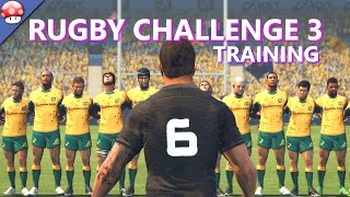 Rugby Challenge 3 - Training - PC Gameplay