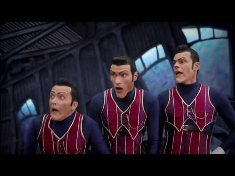 We Are Number One, but the instrumental is reverse while the vocals are fine.