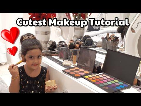 Cutest Makeup Tutorial Ever | Kids Makeup Tutorial Princess|Makeup Tutorial by 4 year| Kids Explorer