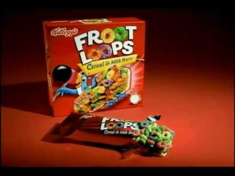 Froot Loops Cereal Bars Froot Loops Cau...