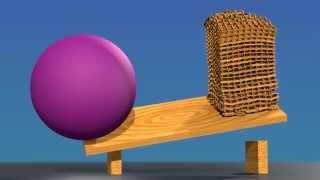 Big Ball Vs Keva Planks Tower