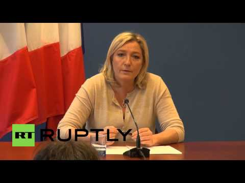 France: Le Pen defends Russian bank funding