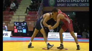 Eldeniz Azizli vs Elchin Aliyev / 55 kg final / Azerbaijan championship