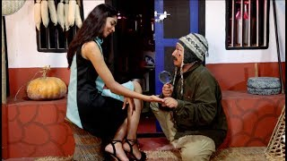 "MISS NEPAL 2017 - NIKITA CHANDAK मिस नेपाल निकिता चन्दक With ""Twakendra Niwas""|| Nepali Comedy Show"