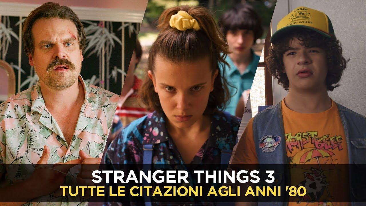 Stranger Things 3 Tutte Le Citazioni A Film Canzoni E Fumetti Anni Ottanta