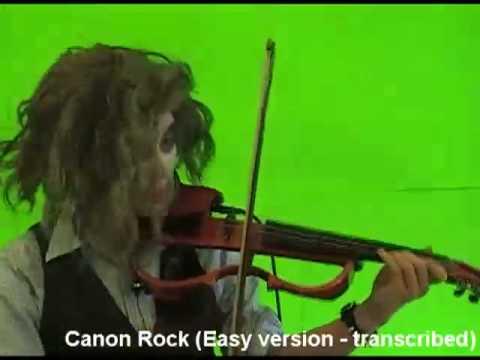 Canon Rock Violin (Easy version)