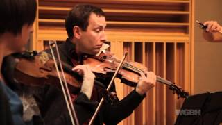 WGBH Music: Cypress Quartet plays Dvorak