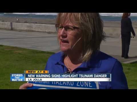 New warning signs highlight tsunami danger