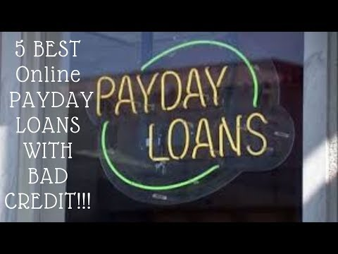 5 Best Online Payday Loans With No Credit Check And Bad Credit 2020