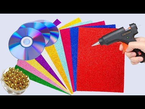 Latest DIY Glitter Paper crafts | Best Home Decoration Ideas | Glitter paper craft easy