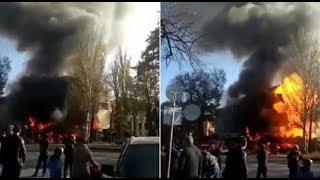 Три взрыва прогремели в центре Бишкека (08.11.19)