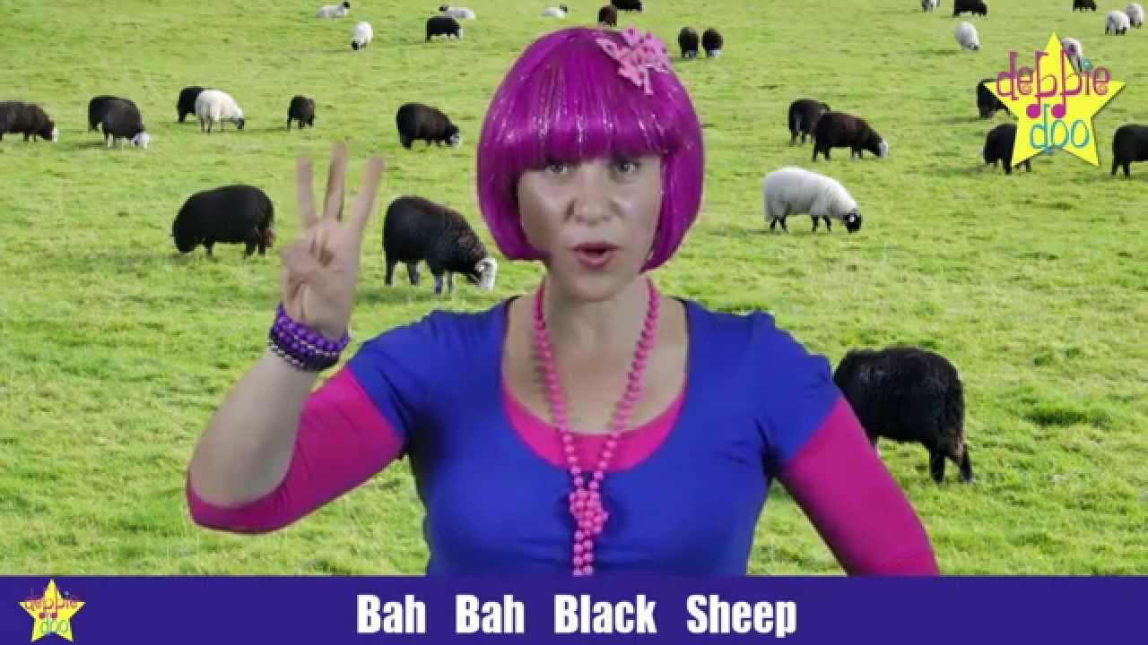 For Children. Baa Baa Black Sheep & London Bridge - Nursery Rhyme with actions - Debbie Doo