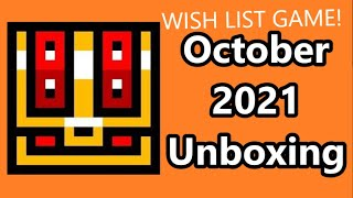 Retro Game Treasure October 2021 Unboxing: Is It Worth It? Wish List Game!!!