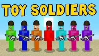 MINECRAFT MOD | Toy Soldiers | Minecraft Pocket Edition!