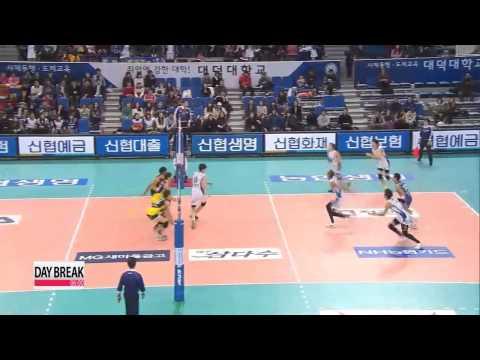 V-League, Samsung Hwajae vs Rush n Cash