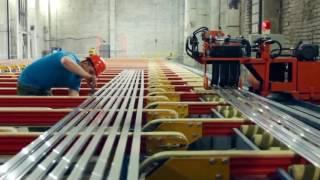 Производство алюминиевого профиля для светодиодной ленты(, 2016-09-20T18:12:01.000Z)