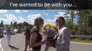 Best Proposal Ever!! She had no idea what was happening!