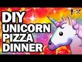 DIY UNICORN PIZZA - Man Vs Din #7