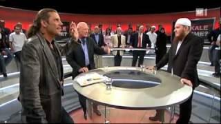 Nicolas Blancho bei Arena 7 von 8 SF1 Radikale Muslime von 23.04.2010