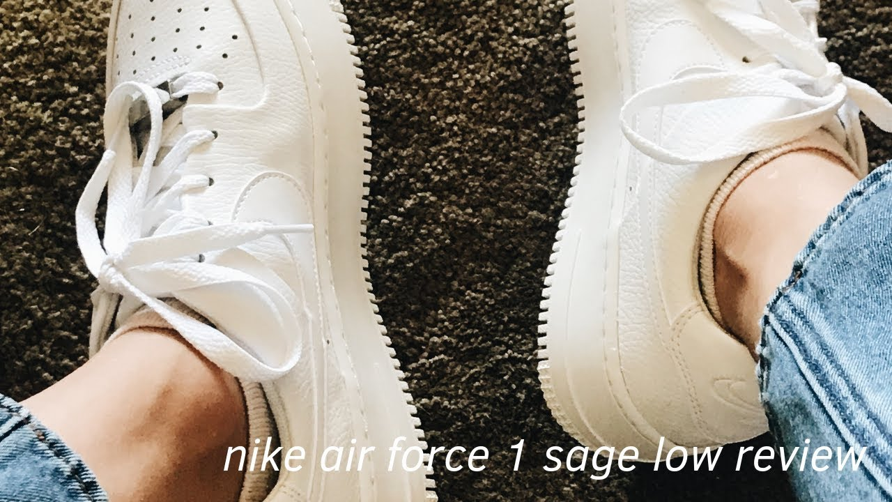 Nike Air Force 1 Sage Low Review + Try On Haul