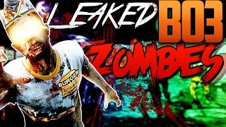 ''Black Ops 3'' Zombies LEAKED Info? 8 Player Mode, & More | BO3 Leaked Rumors (COD 2015)