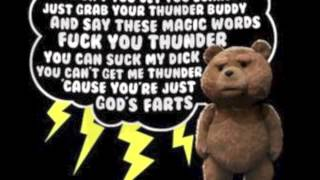 ted-fuck you thunder song Resimi