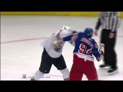 Steve MacIntyre vs Derek Boogaard Round 1 Nov 14, 2010