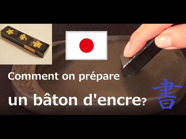 Baton 5 Encre de Chine Calligraphie-Chinese Ink stick-Coffret de 5 b/âtons dencre de chine de couleur