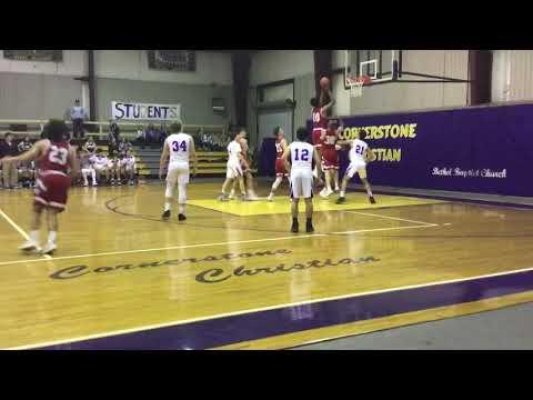 Jarrod Posey, 2020, 6'5 F, Coosa Valley Academy, Harpersville, AL.