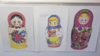 занятие русские матрешки в подготовительной группе белье