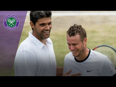 Lleyton Hewitt and Mark Philippoussis win Wimbledon 2017 invitational doubles opener