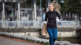 Jogging and picking up litter come together in 'plogging'