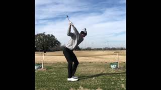 Will Zalatoris Slow Motion Golf Swings. Iron #impact #golf #golfswing #subforgolf #alloverthegolf