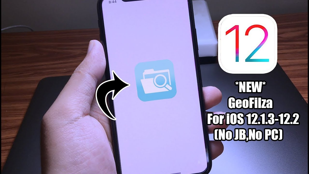 *NEW* How to Install Filza For iOS 12 1 3-12 2 (No Jailbreak, No Computer)  by iApplePro