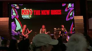 The New Roses - The Bullet live at Kiss Kruise 2019
