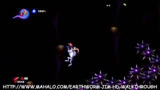Earthworm Jim HD Walkthrough - Buttville