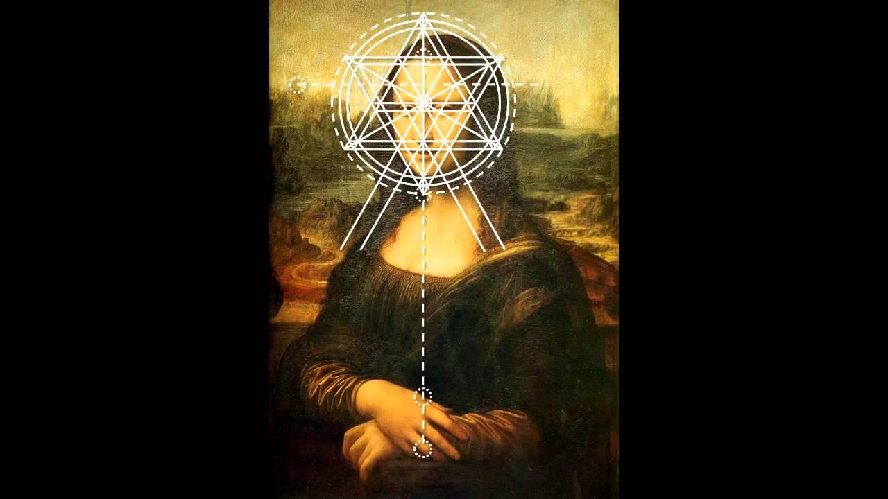 Mona Lisa - Leonardo Da Vinci's Use of Sacred Geometry ... Da Vinci Paintings Secrets