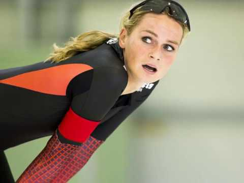 Download Irene Schouten wins  a bronze medal at the mass start speed skating at Winter Olympics