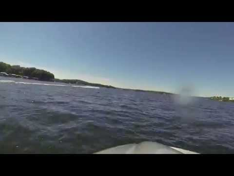 Lake of the Ozarks Bagnell Dam to Truman Dam run, Part 1