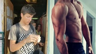 Before and After - 2 Years Body Transformation ( Natural ) | Workout and Musculation
