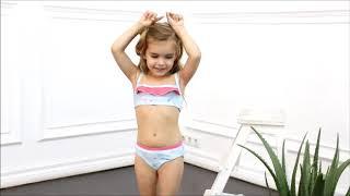 Раздельный купальник для девочки (30194) / Купальники для девочек / Котмаркот