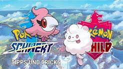 Pokemon Schwert und Schild - PARFI UND FLAUSCHLING ENTWICKELN