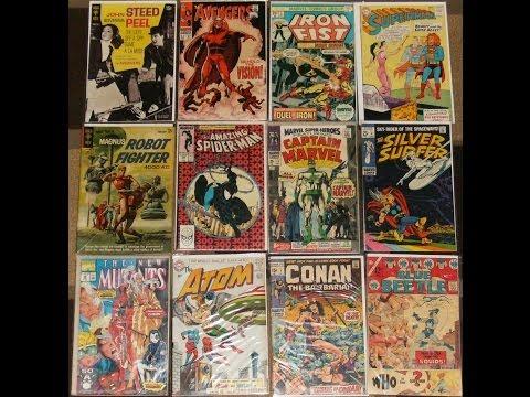 Epic Silver Age Comic Book Haul
