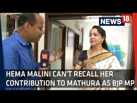 Hema Malini: Have Done A Lot For Mathura, But Don't Remember Much