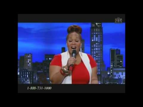 Mary Mary interview & Tina Campbell sings Speak The Word on TBN