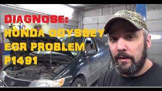 Honda Odyssey EGR Trouble P1491