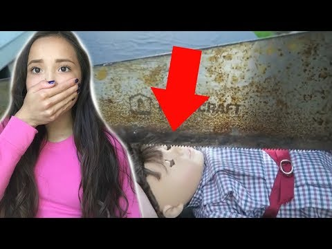 REACTING TO AN AMERICAN GIRL DOLL BEING CUT OPEN!