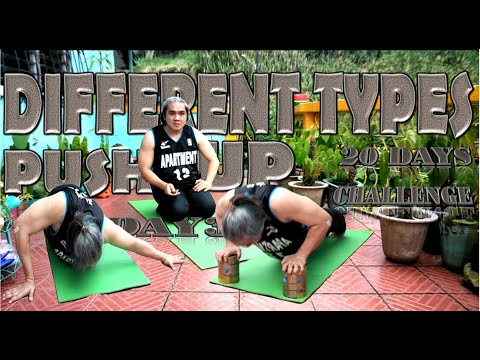 Beginner Different Types of PUSH UP 25 Counts In 20 Days Challenge  Day 3