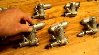 7 RC NITRO GLOW ENGINES all sold!